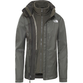 The North Face Evolve II Chaqueta Triclimate Mujer, new taupe green